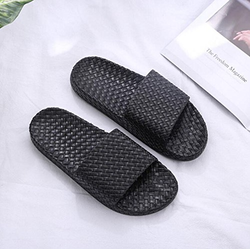 43 Sandalen Rutschfeste Weiß Creative Hausschuhe Schwarz Farbe Paar Hausschuhe Hausschuhe SUxian Badezimmer Größe RTPpxw