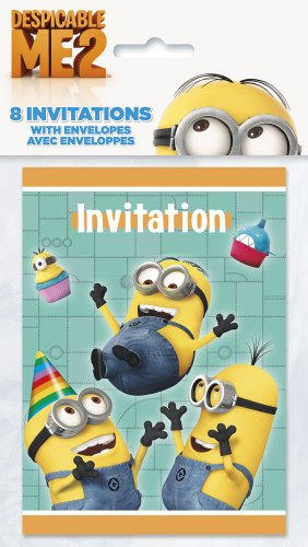 Despicable Me Invitations,