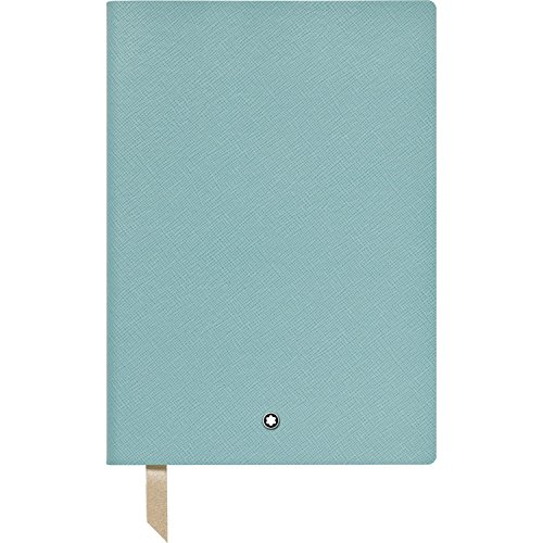 Montblanc Notebook Mint Lined #146 Fine Stationery 114970 – Elegant Journal with Leather Binding and Ruled Pages – 1 x (5.9 x 8.2 in.)