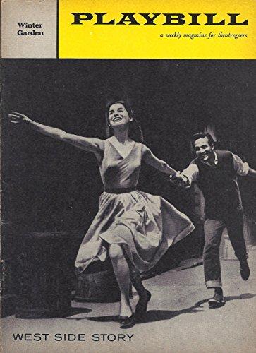 "Stephen Sondheim""WEST SIDE STORY"" Carol Lawrence/Larry Kert/Leonard Bernstein 1960 Broadway Playbill"