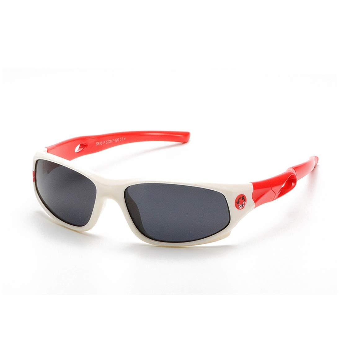 Freahap Childrens Sunglasses Kids Polarized Glasses Antiglare Shade Sports Glasses Bendable Frame