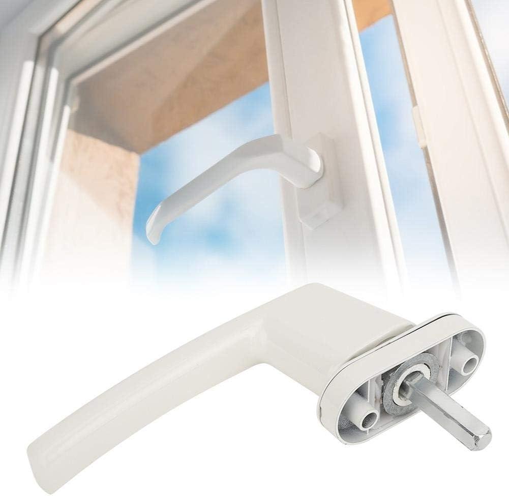 【Regalo de Navidad】Accesorios de hardware para el hogar con abridor de ventana de base redonda Manivela de ventana, manija de ventana, para puerta de apertura plana Ventana de plástico