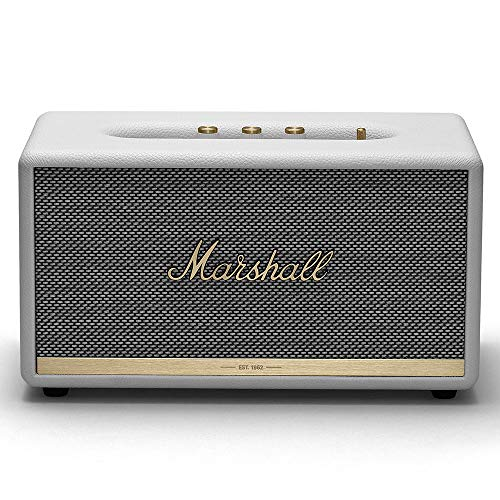 Marshall Stanmore II Wireless Bluetooth Speaker, White - NEW