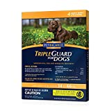 Pet Balance TripleGuard Flea & Tick Drops for Large Dogs, 34-66 lbs, 4 Month Supply