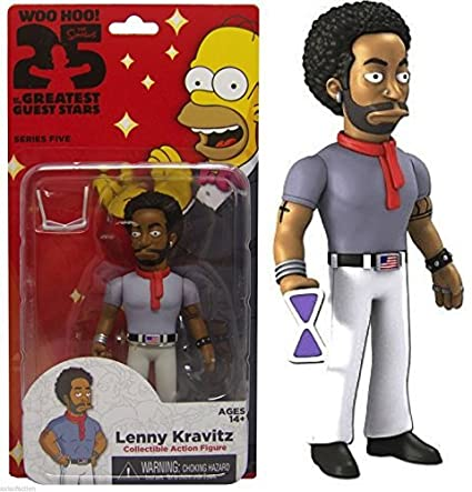 Neca Simpsons 25e anniversary Serie 5 Lenny Kravitz