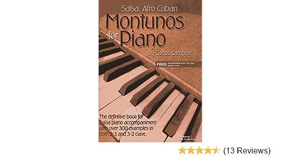 Salsa & Afro Cuban Montunos for Piano Book/downloadable