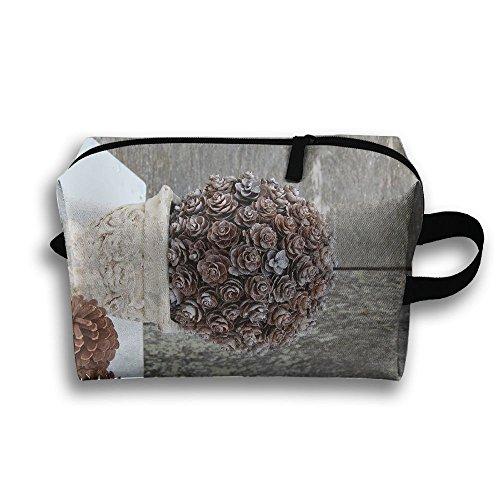 iary Portable Travel Makeup Bag,Storage Bag Portable Ladies Travel Square Cosmetic Bag ()