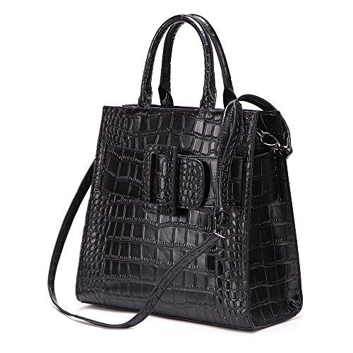 Bolso Bolsos Ywx Señoras Invierno La Cocodrilo Office Mujer Bag Y Satchel Las Monederos Moda De Para PwSdwT