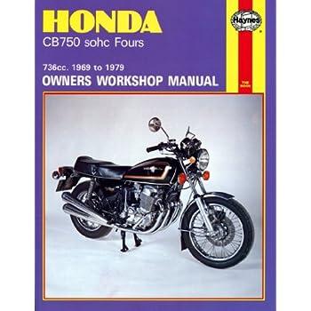 amazon com honda cb750 and cb900 dohc fours haynes repair manual rh amazon com 1982 honda nighthawk 750 manual 1991 honda nighthawk 750 manual