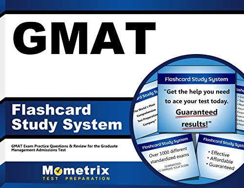 GMAT Flashcard Study System: GMAT Exam Practice Questions & Review for the Graduate Management Admissions Test (Cards)