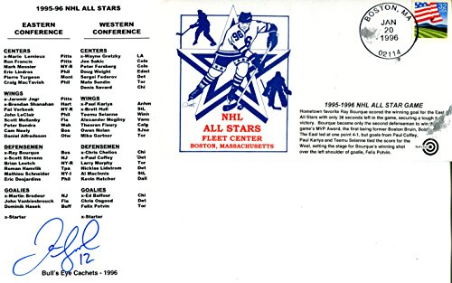 - Jerome Iginla Autographed Roster with NHL All Star Game Envelope