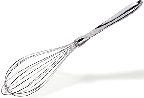 All Clad T136 Stainless Steel 14.5 Inch Whisk/Kitchen Tool, Silver