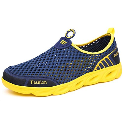 de Zapatos Aire Casuales Sports E al de Casuales tamaño Mesh Deporte Mujeres Color Zapatos Zapatos Libre Transpirables New 45 Zapatillas Zapatos Las Mesh Couple Senderismo de Shoes 77Zqw