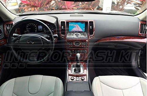 Infiniti G37 G-37 G 37 2 Door Coupe Interior BURL Wood Dash Trim KIT Set 2010 2011 2012 2013 2014