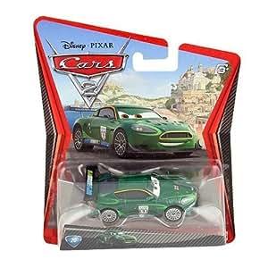 Disney Pixar Cars 2 - Coche miniatura de Nigel Gearsley (metal fundido, escala1:55)