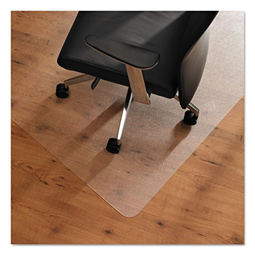 Cleartex UnoMat, Anti-Slip Chair Mat, For Polished Hard Floors/Carpet Tiles, Rectangular, 48'' x 60'' (FR1215020ERA) by Floortex