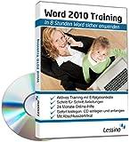Word 2010 Training - In 8 Stunden Word sicher anwenden [1 Nutzer-Lizenz]