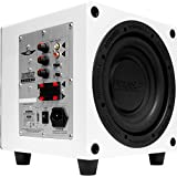 Earthquake Sound MiniMe P8W_V2 Passive Tuned Powered Mini Subwoofer (Piano White)