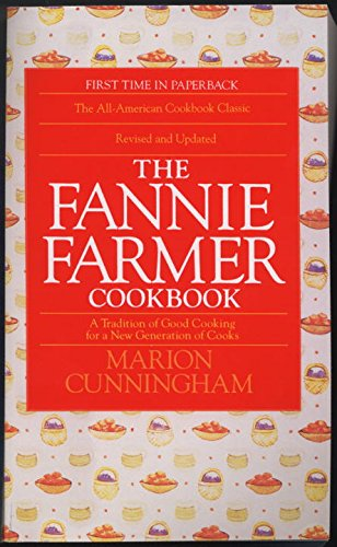 The Fannie Farmer Cookbook: A Tradition of Good Cooking for a New Generation of Cooks (Seafood Slow Cooker)