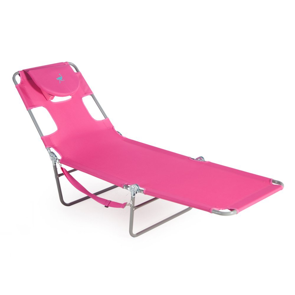 Amazon Ostrich Chaise Lounge Pink Garden & Outdoor