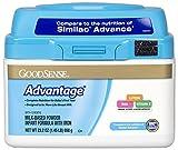 GoodSense Advantage Milk-Based Powder Infant Formula with Iron, 23.2 Ounce