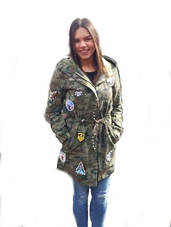 Militar muster jacken damen