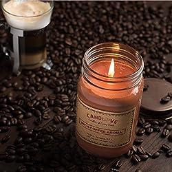 """CANDLOVE """"Rich Coffee Aroma Scented 16oz Maso"""