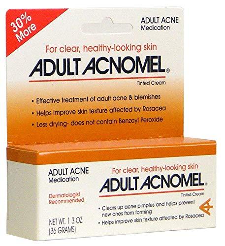 Adult Acnomel Acne Medication Cream 1.3 oz