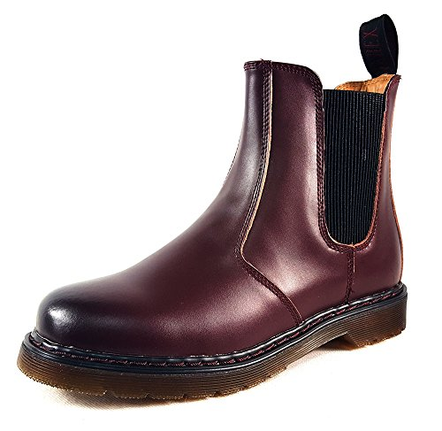 Red style2 40 7 EUR Martin UK Chelsea Ladies Boots Red1 rPfqrO