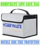 HOBBYMATE Lipo Battery Safe Bag LiPo sacks Guard Fireproof - for Lipo Battery Charge & Storage