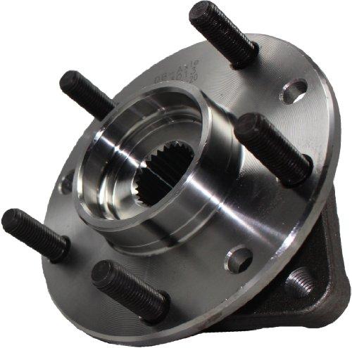 - Detroit Axle - Rear Wheel Bearing & Hub Assembly - Driver or Passenger Side for 1984-1996 Chevrolet Corvette - [1979-1985 Oldsmobile Toronado]