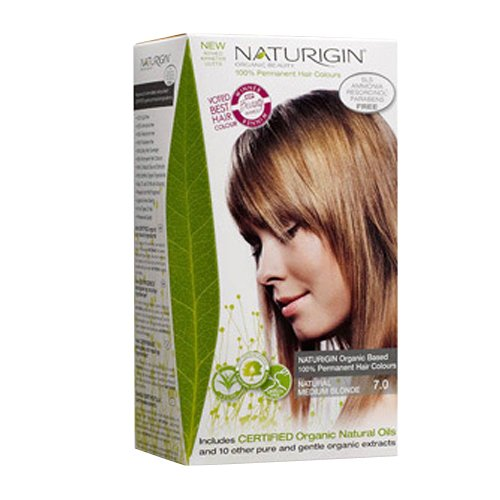 (Naturigin Permanent Hair Color, Natural Blonde, Medium)