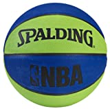 Spalding NBA Mini Basketball - Blue/Green