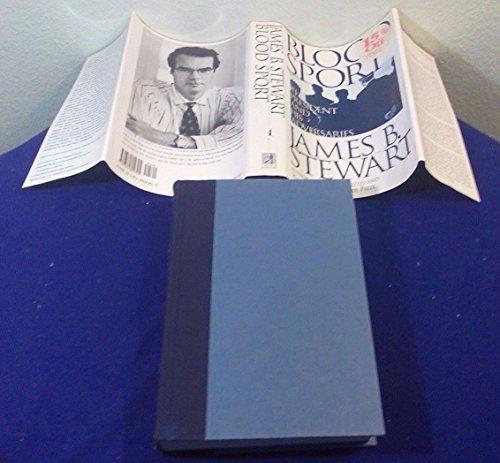 1996 BLOOD SPORT Hardcover Book by JAMES B STEWART