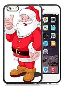 Design Case Cover For HTC One M7 Santa Claus Black Case Cover For HTC One M7 PC Case 23