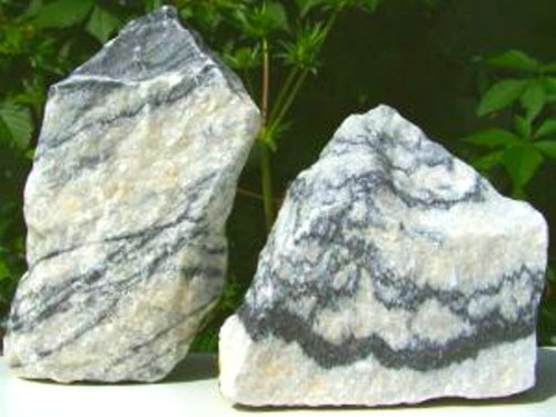 approx. 1 kg Zebra stone, decostone, aquarium, decoration, terrarium Feed