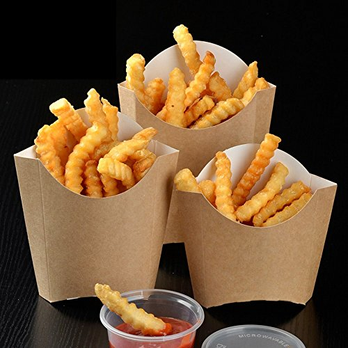 french fry box containers - 5