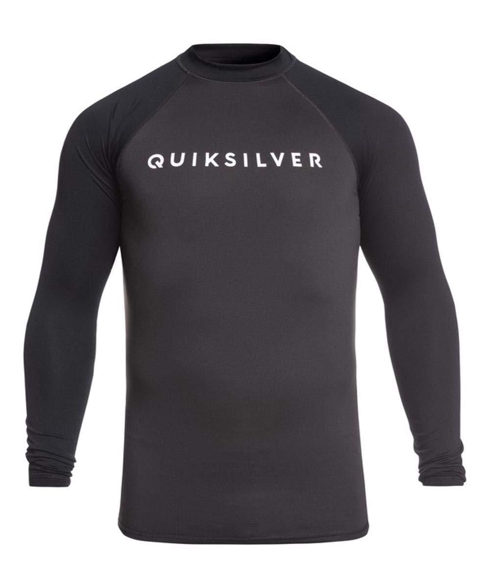 Quiksilver Men's Always There Long Sleeve Rashguard UPF 50+ Sun Protection, Tarmac, XXL by Quiksilver