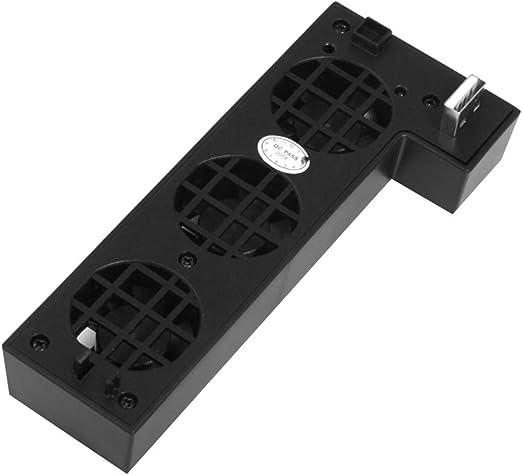 Hotaluyt USB Externo de Control de Temperatura 3-Ventilador Turbo Ventilador de refrigeración para Xbox One X Consola de Juegos Juego Ventilador Enfriador: Amazon.es: Hogar