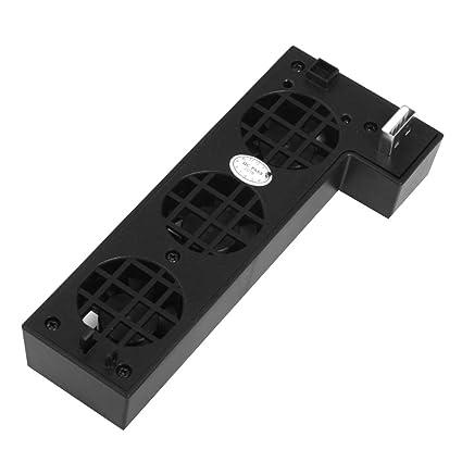 Regard USB externo de control de temperatura 3-ventilador turbo ventilador de refrigeración para Xbox