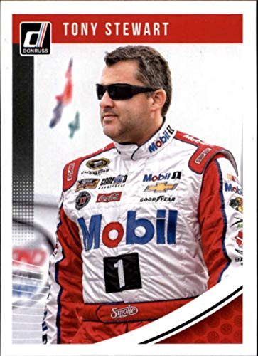 Tony Stewart Racing 2019 - 2019 Donruss Racing #65 Tony Stewart Mobil 1/Stewart-Haas Racing/Chevrolet Official NASCAR Trading Card