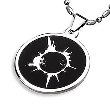 Gambulin Stainless Steel Heroes Godsend Solar Eclipse Pendant