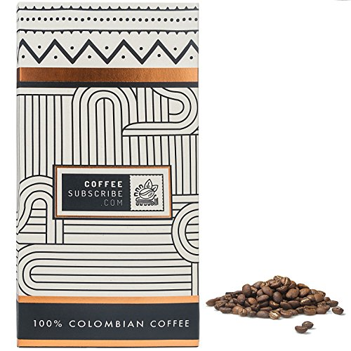 Epicure Coffee Beans by Coffeesubscribe - Medium Roast, Whole Bean, Premium Arabica Coffee Variety, Artisan Grown, Small Assortment Mountain Coffee, 100% Colombian Cafe (1 LB/16 OZ Coffee Bag) - MW