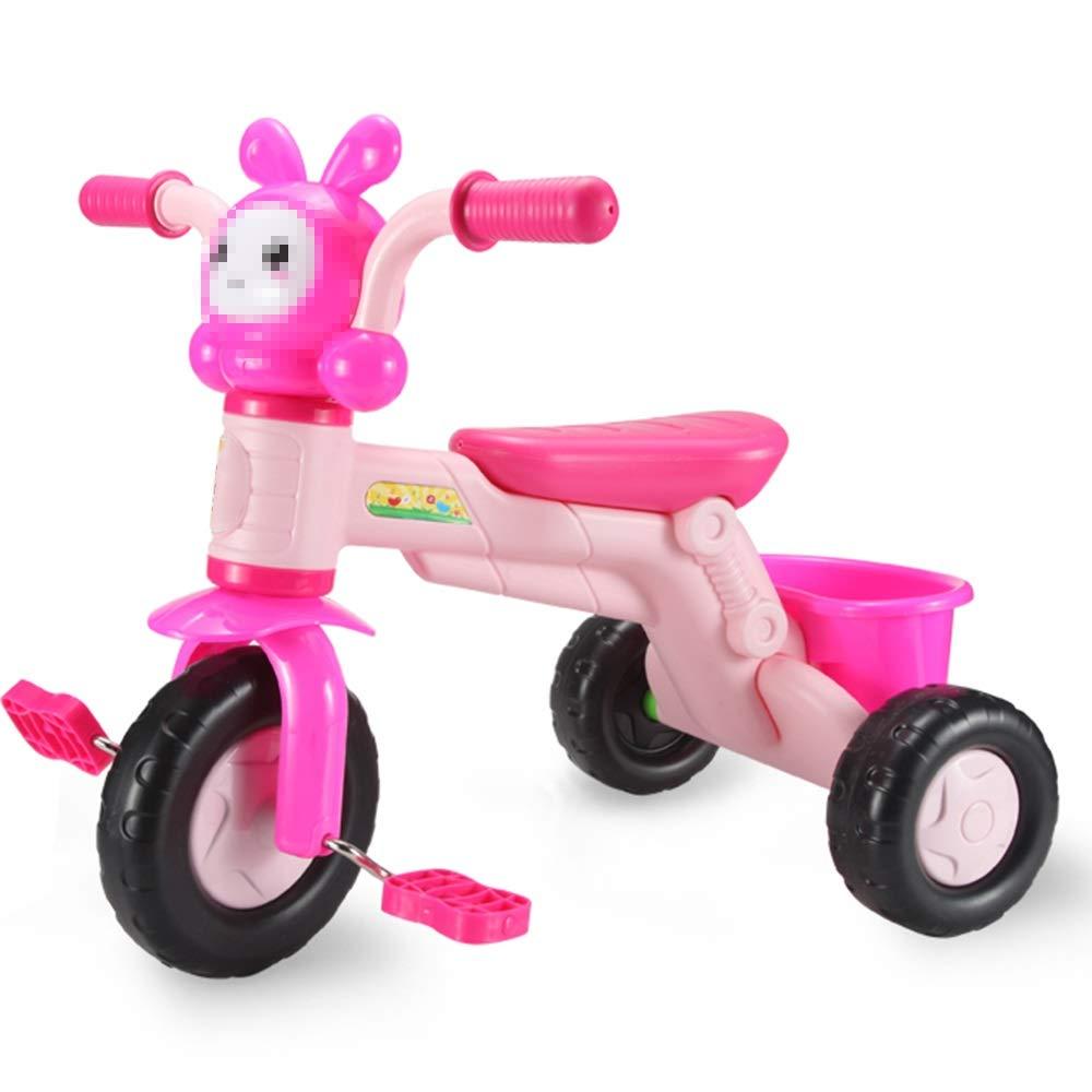 2019年新作 Axdwfd Axdwfd 子ども用自転車 子供三輪車音楽付きキッズペダル自転車13年古い、積載重量 子ども用自転車、25キログラムベビーカー男の子女の子おもちゃの車 ピンク ピンク B07PXYD7WZ, グローバルマーケット:f7125756 --- senas.4x4.lt