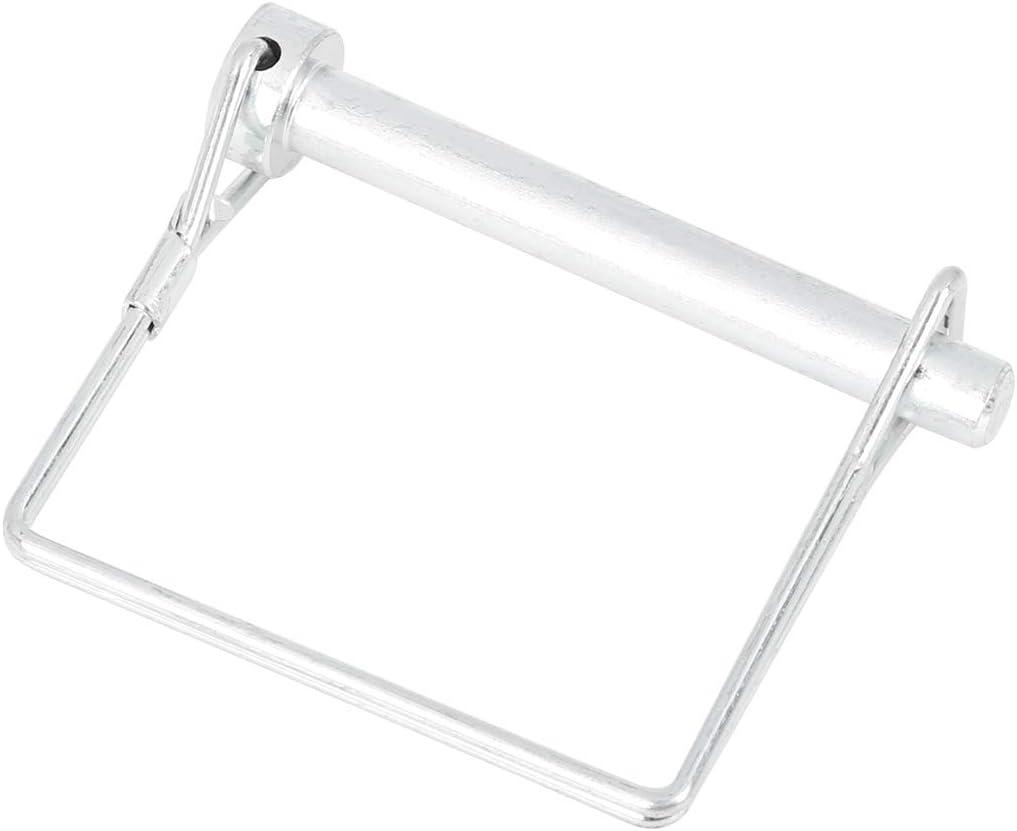 X AUTOHAUX 5pcs 2.56 Length 0.31 Diameter Square Shape Trailer Shaft Locking Coupler Pin for Car Boat
