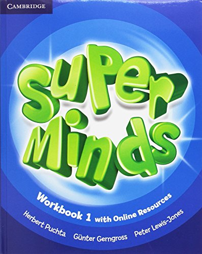 Super Minds Level 1 Workbook Pack with Grammar Booklet