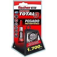 fischer 541728 Adhesivo Total 30 Extreme (Envase 5, 541727, Trasparente, 3 gr
