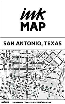 San Antonio Texas Inkmap sightseeing ebook product image
