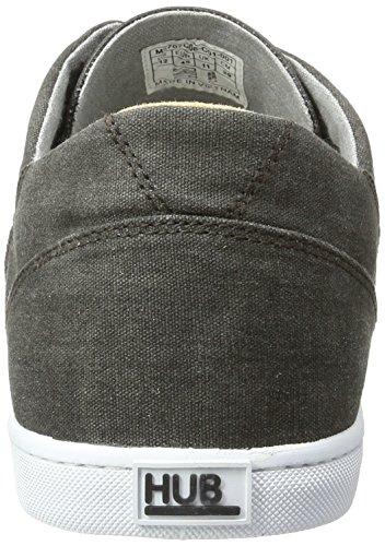 Hub Gris Homme Black C06 Salvador Sneakers Basses PPvrw