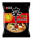 Original korea Nongshim Shin Ramyun Black Noodle Soup, Gourmet Spicy (Pack of 4)